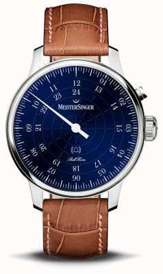 MeisterSinger Bell hora 20e anniversaire cadran bleu BHO908