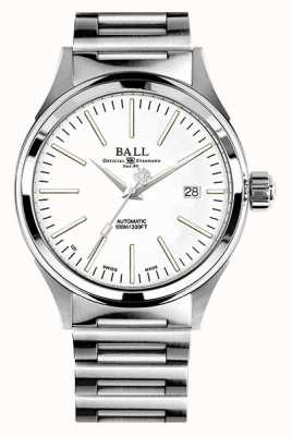 Ball Watch Company Pompier automatique 40mm cadran blanc NM2098C-S20J-WH