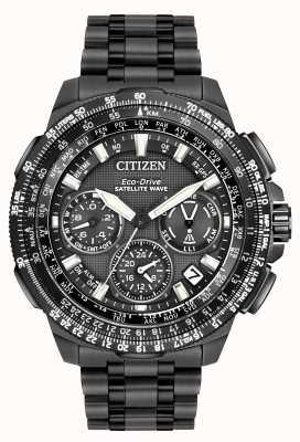 Citizen Onde satellite GPS navihawk | super titane noir | cc9025-51e CC9025-85E