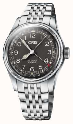 ORIS Bracelet en acier inoxydable grosse couronne pointeur date 40 mm 01 754 7741 4064-07 8 20 22