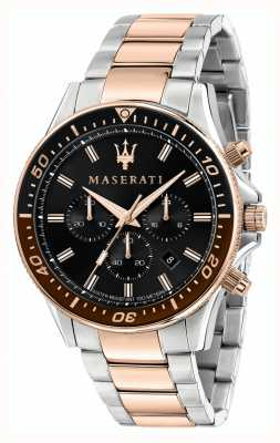 Maserati Bracelet bicolore Sfida pour hommes R8873640009