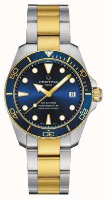 Certina Ds action diver stc édition spéciale C0328072204110