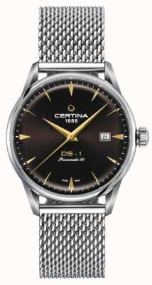 Certina Montre Ds-1 powermatic 80 cadran marron C0298071129102