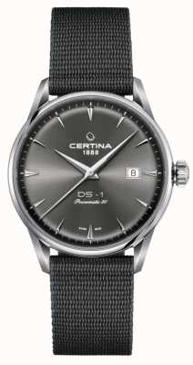 Certina Montre Ds-1 powermatic 80 cadran gris C0298071108102