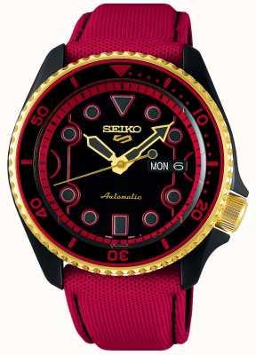 Seiko 5 sports | street fighter v édition limitée ken | bracelet en toile rouge SRPF20K1