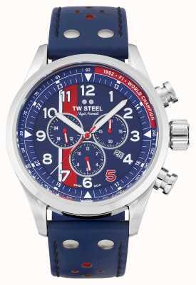 TW Steel | volante | édition limitée nigel mansell | chronographe bleu | SVS307