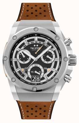 TW Steel Ace Genesis édition limitée bracelet chronographe marron ACE120
