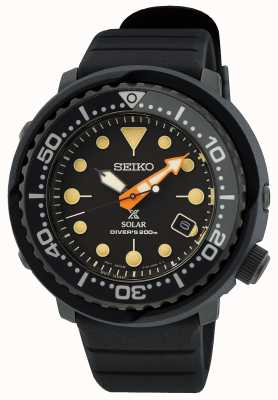Seiko Prospex série noire 'thon' édition limitée SNE577P1