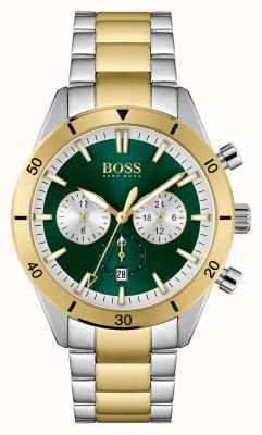 BOSS Cadran vert santiago pour homme 1513872