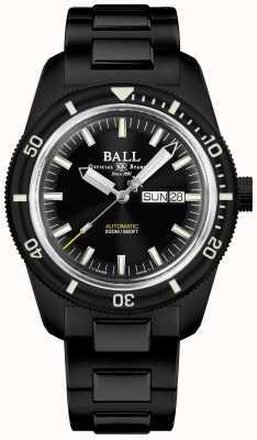 Ball Watch Company Ingénieur ii | patrimoine skindiver | automatique | revêtement noir tic DM3208B-S4-BK