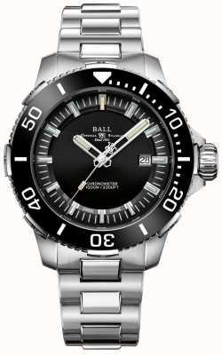 Ball Watch Company Montre Deepquest à cadran noir en céramique DM3002A-S3CJ-BK
