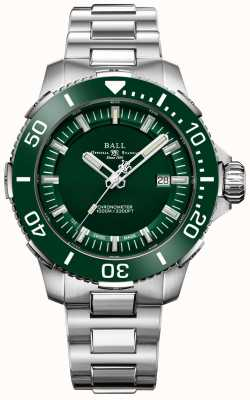 Ball Watch Company Lunette et cadran en céramique verte Deepquest DM3002A-S4CJ-GR
