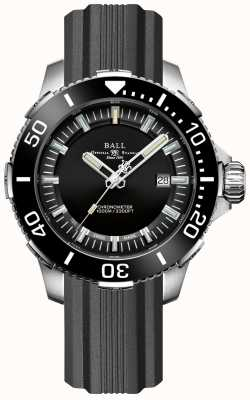 Ball Watch Company Lunette et cadran en céramique noire Deepquest DM3002A-P3CJ-BK