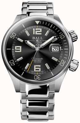 Ball Watch Company Montre chronomètre de plongée cadran soleillé noir DM2280A-S2C-BK
