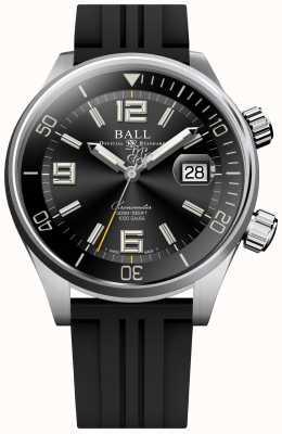 Ball Watch Company Montre chronomètre de plongée bracelet en caoutchouc noir DM2280A-P2C-BK