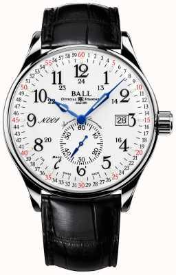 Ball Watch Company Boucle déployante aux normes ferroviaires 130 ans NM3888D-LL3CFJ-WH