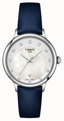 Tissot Cadran nacre serti de diamants Odaci-t T1332101611600