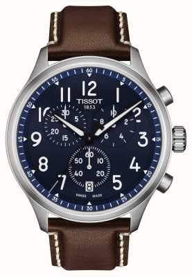 Tissot Montre chrono xl vintage cadran bleu T1166171604200