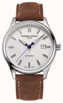 Frederique Constant Index classique automatique 40 mm cuir marron FC-303NS5B6