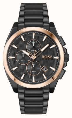 BOSS Grand maître sport lux | bracelet pvd noir 1513885
