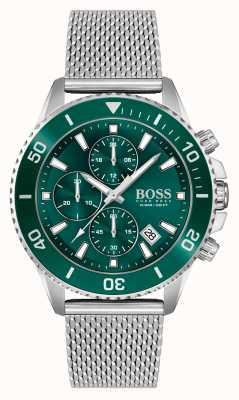 BOSS | amiral athleisure | bracelet en maille d'acier | 1513905