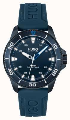HUGO # streetdiver casual bleu bleu 1530223