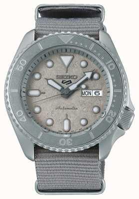 Seiko 5 montres sport ciment collection nato 42,5 mm SRPG61K1