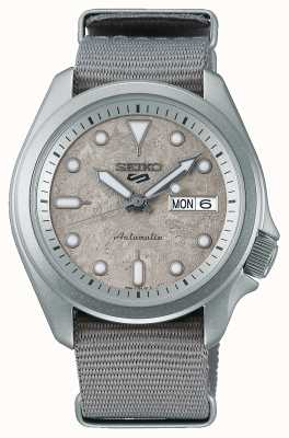 Seiko 5 montre sport ciment 40 mm bracelet nato SRPG63K1