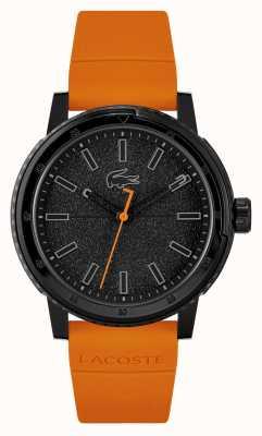 Lacoste Bracelet en silicone orange Challenger 2011095