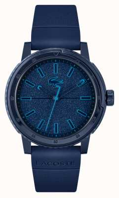 Lacoste Bracelet en silicone bleu Challenger 2011083