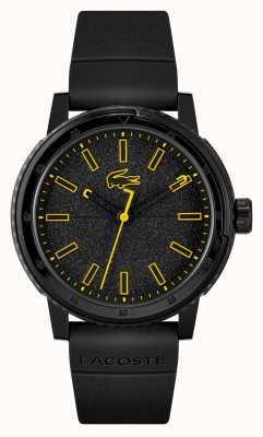 Lacoste Bracelet en silicone noir Challenger 2011089