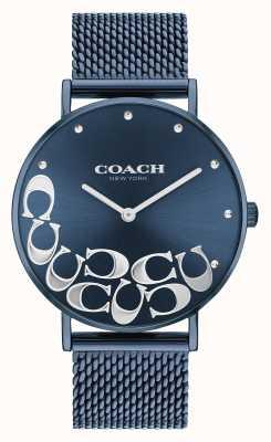 Coach Bracelet femme maille bleu poiré 14503824