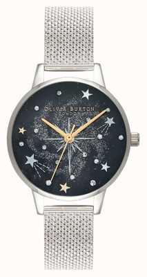 Olivia Burton Bracelet en maille d'argent étoile céleste OB16GD85