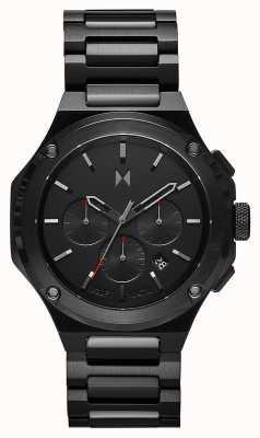 MVMT Bracelet Raptor en acier inoxydable noir fondu 28000149-D