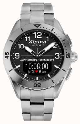 Alpina | alpinerx vivant | montre connectée en titane | AL-284LBBW5TAQ1B