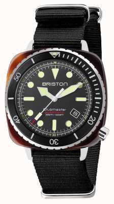 Briston Bracelet nato noir Diver pro en acétate 21644.SA.T.1.NB