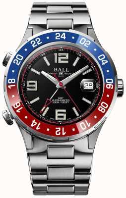 Ball Watch Company Cadran noir édition limitée Roadmaster pilot gmt DG3038A-S2C-BK