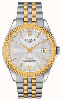 Tissot | ballade | powermatic 80 silicium | bracelet bicolore | T1084082227801