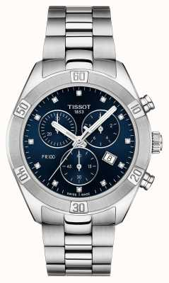 Tissot Mesdames pr 100 chronographe sport chic T1019171104600