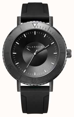 Klasse14 Bracelet en silicone noir Volare taras dark 44mm WVT19BK001M