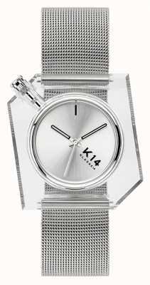 Klasse14 Bracelet maille milanaise argent K14 40mm WKF20SR001M