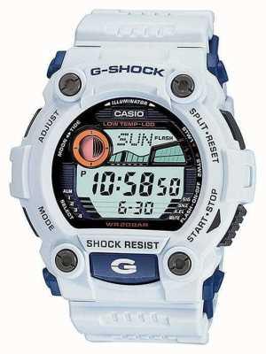 Montre Casio G-Shock blanche alarme chrono G-7900A-7ER