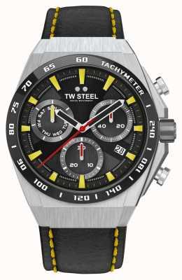 TW Steel Montre Fast Lane ceo tech édition limitée détails jaunes CE4071