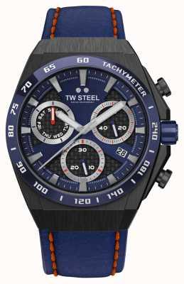 TW Steel Montre Fast Lane ceo tech édition limitée détails rouges CE4072
