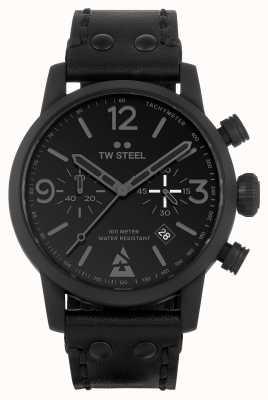 TW Steel Montre édition spéciale Blast monochrome noir MS99