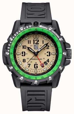 Luminox Pillard commando | cadran de sable | bracelet en silicone noir XL.3321