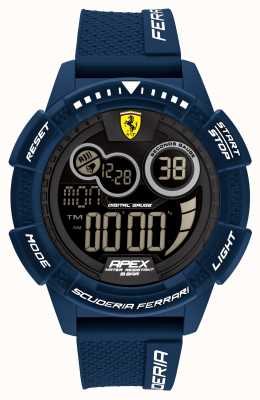 Scuderia Ferrari Bracelet en silicone bleu ultrarapide Apex 0830858