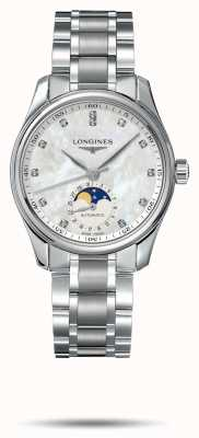 Longines Bracelet en acier inoxydable pour femme Master collection L24094876