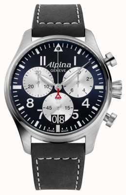 Alpina Chronographe à quartz de pilote Startimer AL-372NS4S6