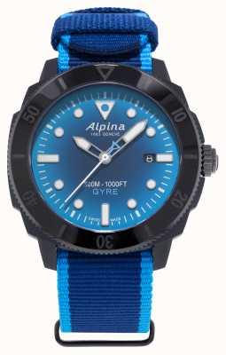 Alpina Gyre de plongée seastrong en édition limitée bleu fumé AL-525LNSB4VG6
